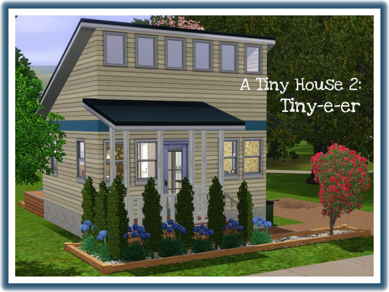 mod the sims a tiny house 2 tiny e er - Tiny House Building 2