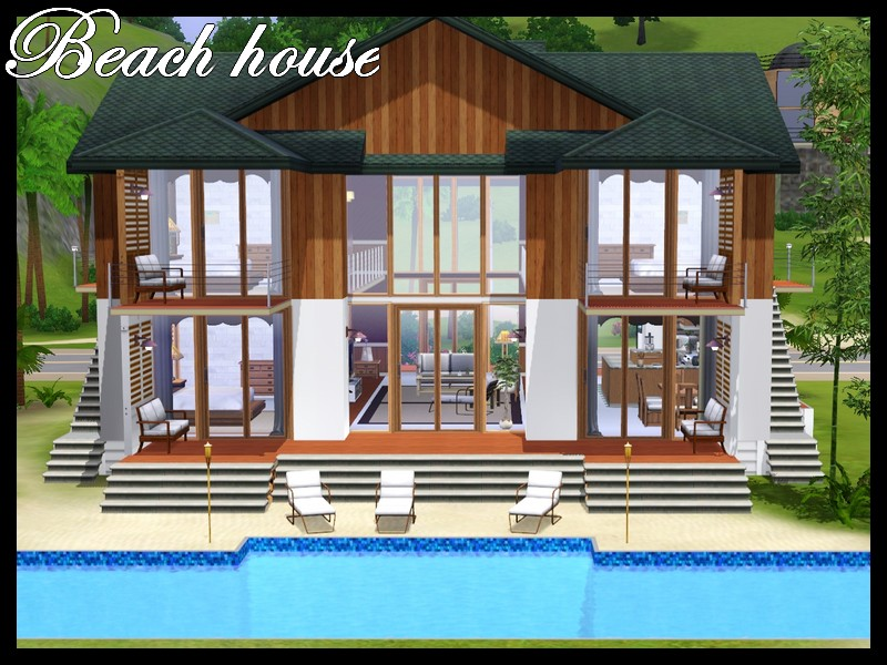 mod the sims - beach house for colocation