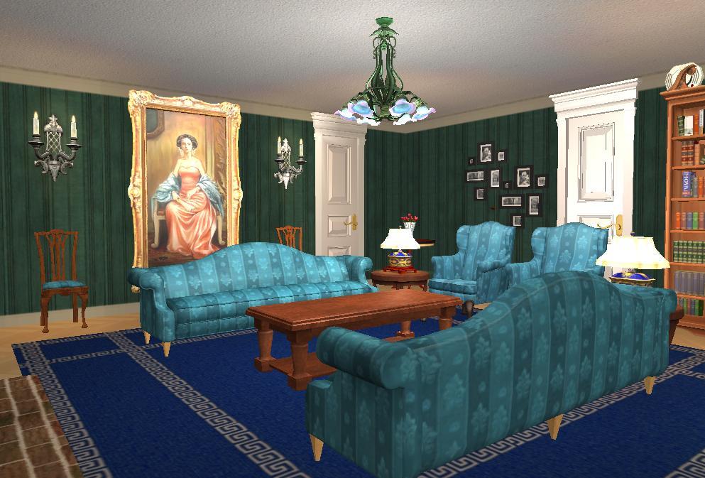Mod The Sims Tudor Lodge Inspired By Clue Cluedo