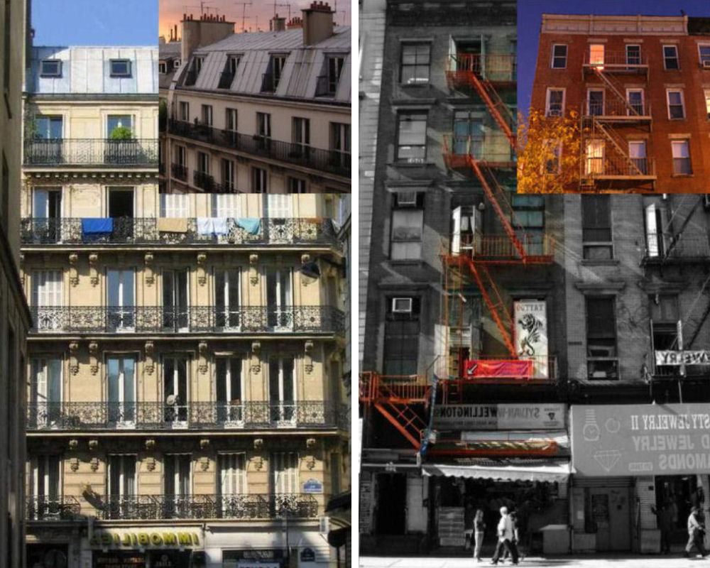 City: City Apartments: Paris And New York Versions