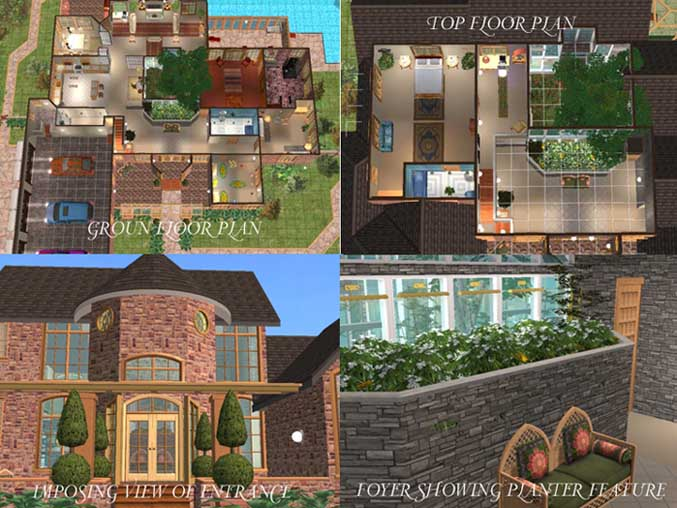 Mod The Sims House Plan 5 Requested