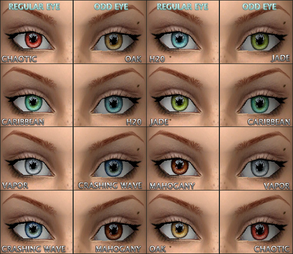 Mod The Sims - tabbs / Caffinated Eyes