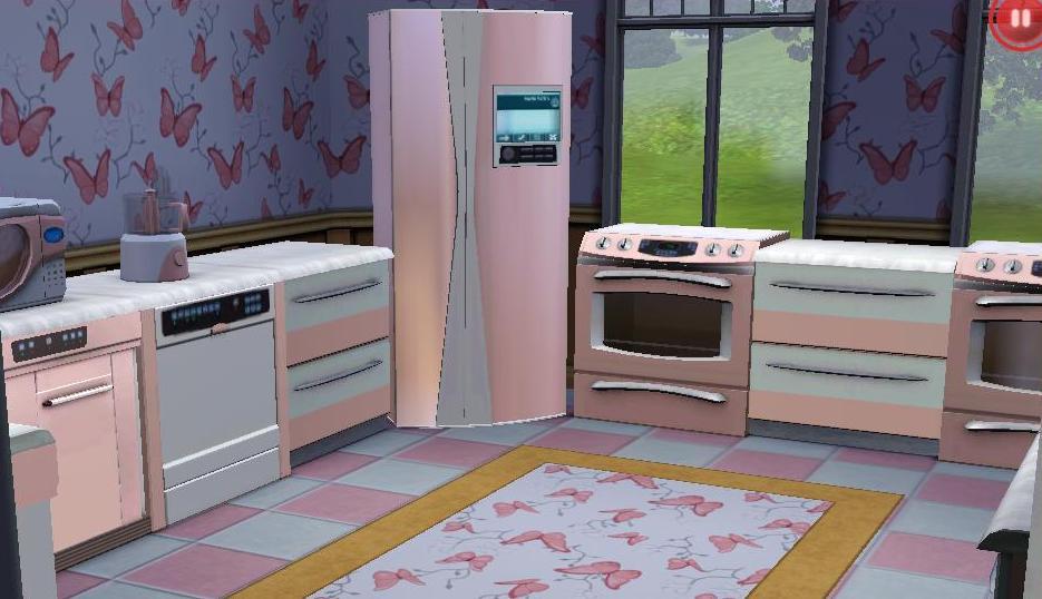 Barbie House Kitchen