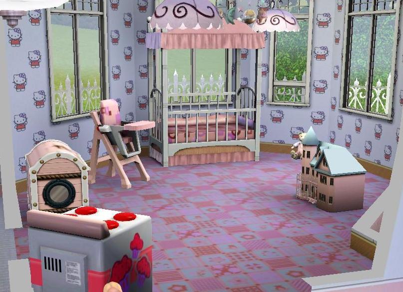 Barbie dream house bedroom trendy barbie dreamhouseu for Barbie dream house bedroom