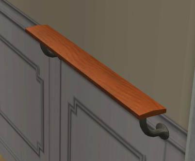 mod the sims ballet barre. Black Bedroom Furniture Sets. Home Design Ideas