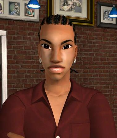 Mod The Sims Alpha Edit Of Melodie9 S All Ages Cornrows