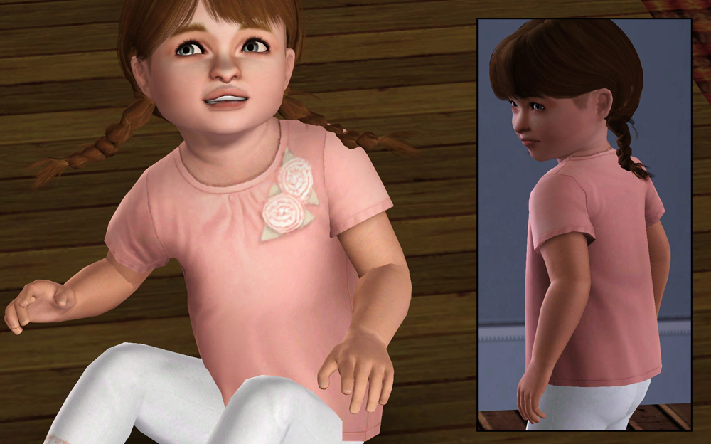 Mod The Sims Three Piece Set Of Clothing For Female Toddlers