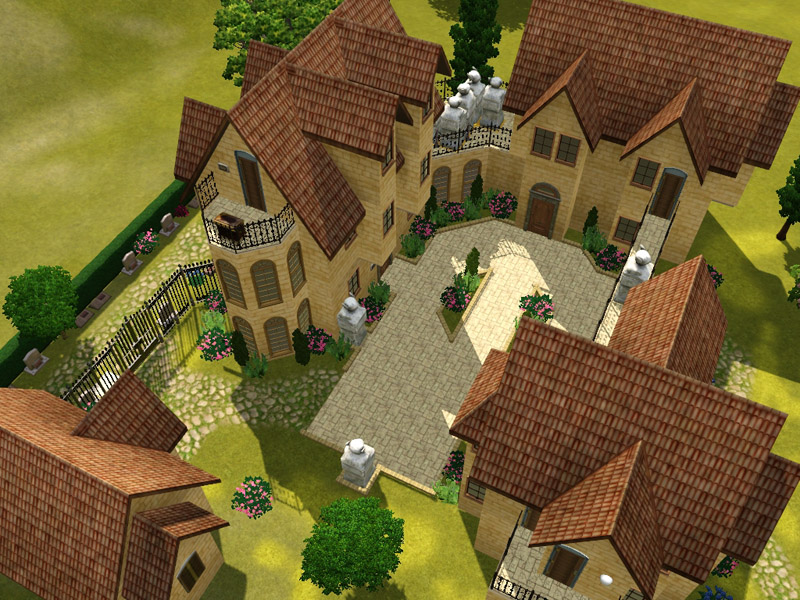 mod the sims updated chateau du graaz a brain busting adventure