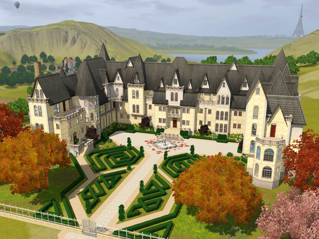 Mod The Sims Grothfort Castle