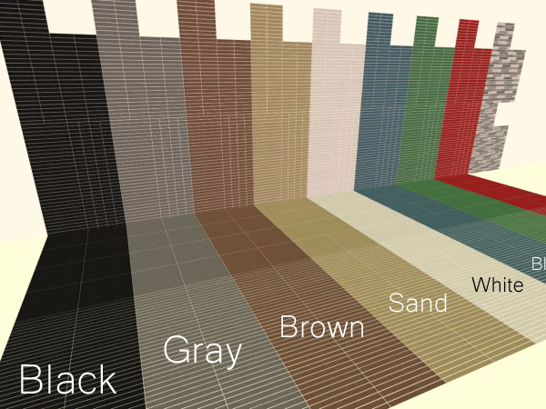 Mod The Sims Mosaic Wall And Floor Set