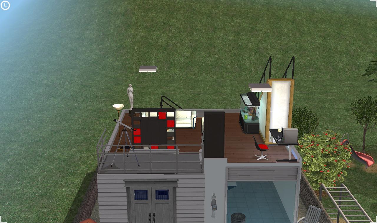 Mod the sims ultra modern apartment no cc a 3t2 for Ultra modern apartment