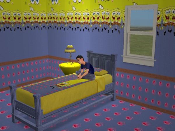 Advertisement. Mod The Sims   SpongeBob BedRoom Set