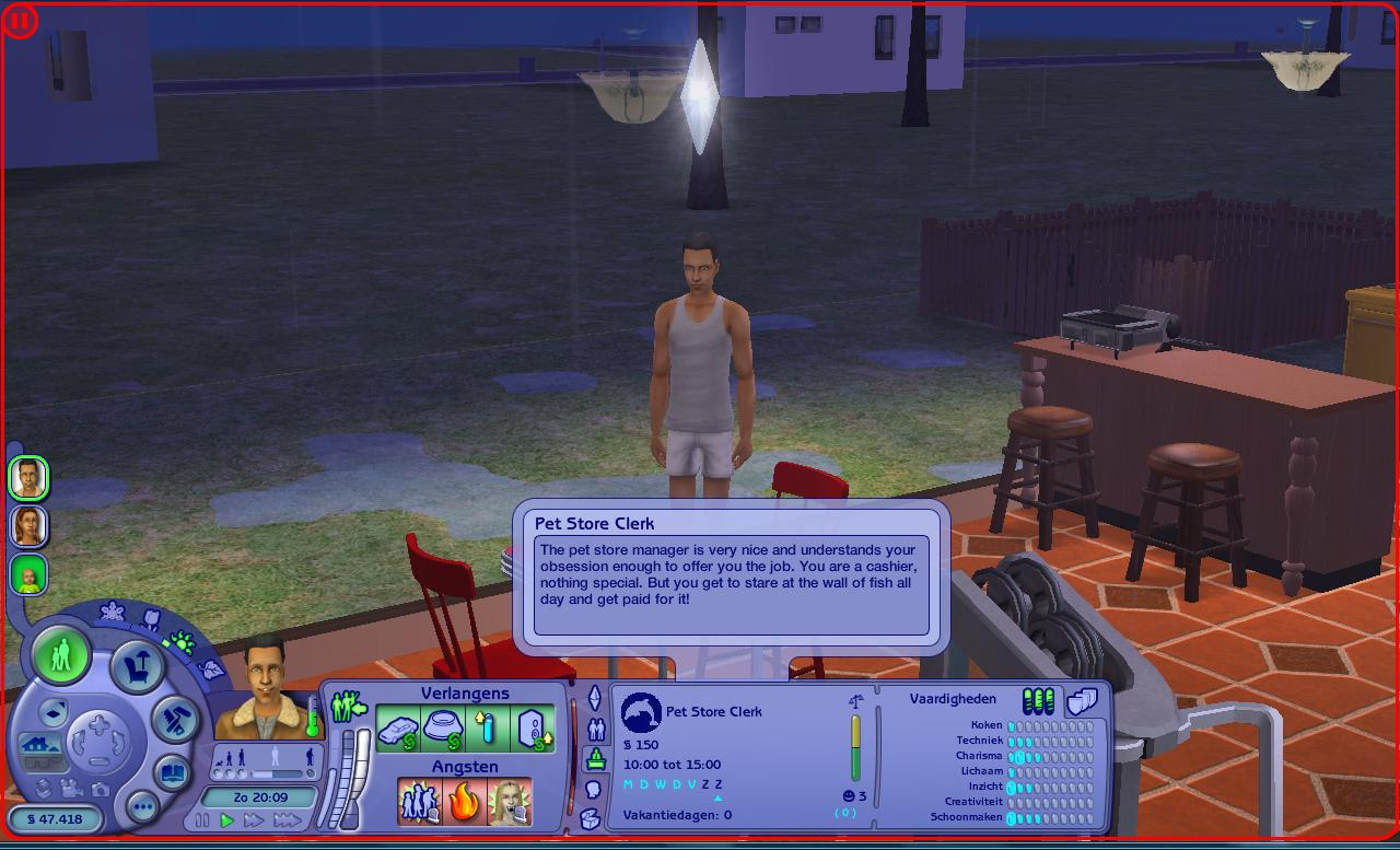 Mod The Sims - New career: Marine Biologist (requested ...