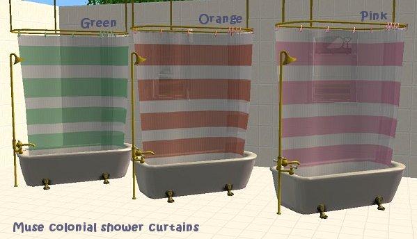 More Semi Transparent Shower Curtains