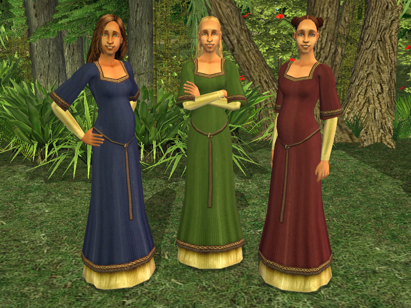 0e6cfda20a3be Mod The Sims - Medieval Maternity Replacements