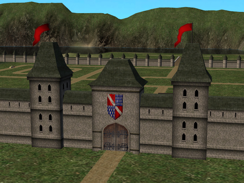 Mod The Sims - The Town Wall