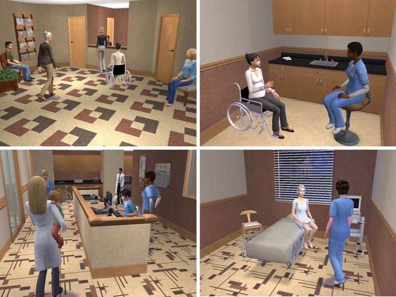 Симс 4 как сделать свою больницу