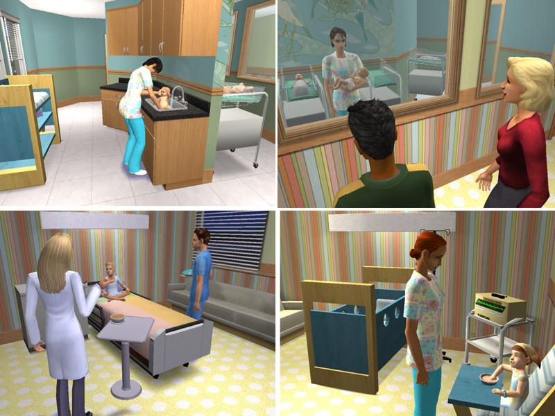 Mod The Sims Mercy Hospital