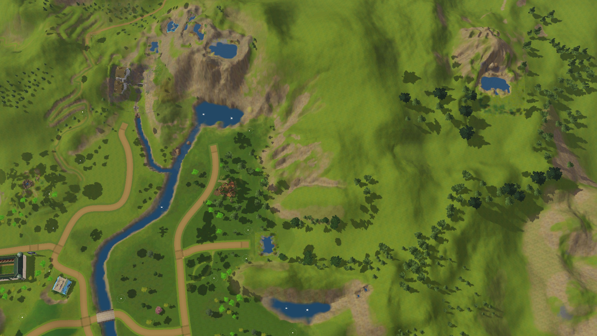 Mod the sims istilnan elven valley slightly different view of the extinct volcano and the other remote hill top fishing place publicscrutiny Gallery