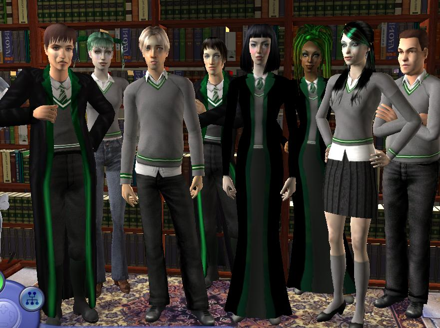 Mod The Sims Slytherin Girls Dorm