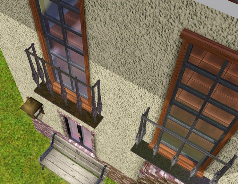 Mod The Sims Spanish Balconies For Sims3
