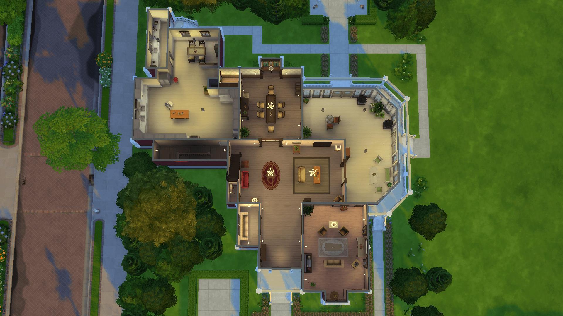 Mod The Sims - Halliwell Manor: No CC