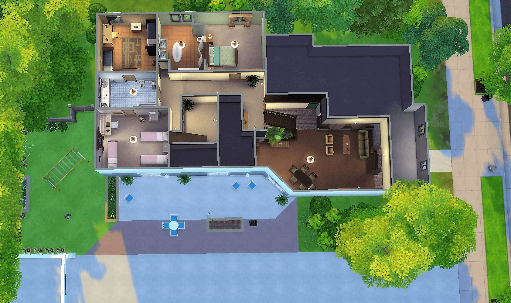 Mod The Sims - Brady Bunch House