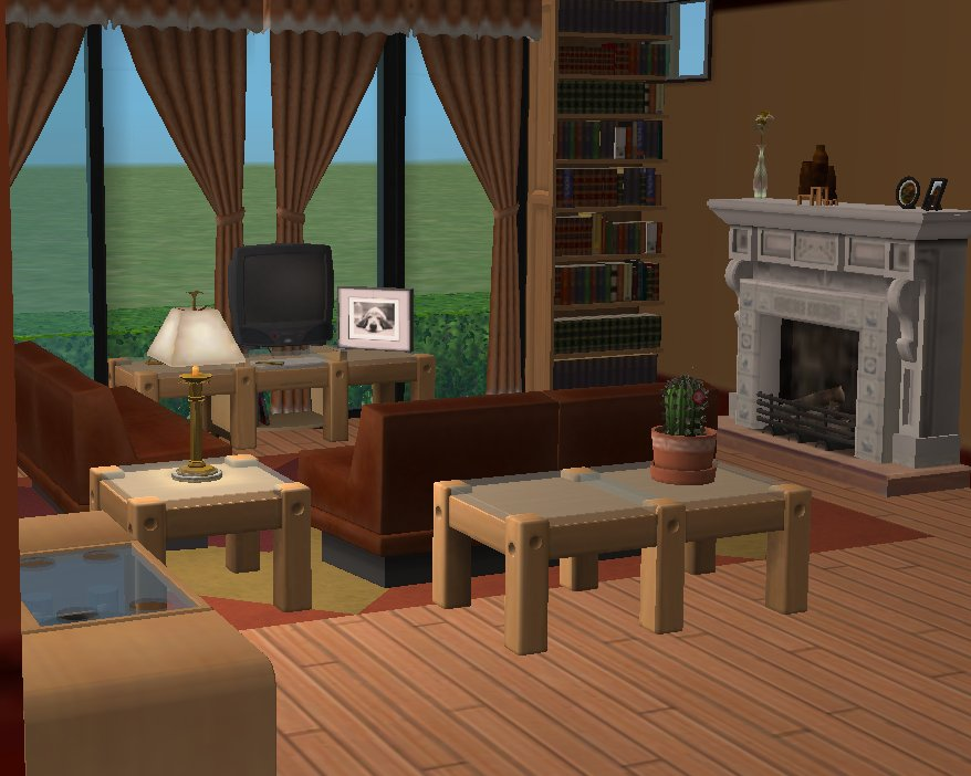 Mod the sims white rock for Living room 5x3