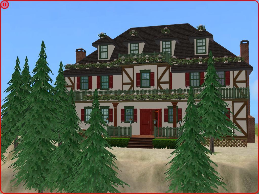 Cozy Christmas Cottage