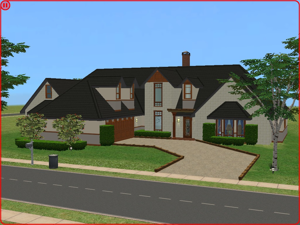 Mod the sims cape cod luxury home for Cape cod luxury homes