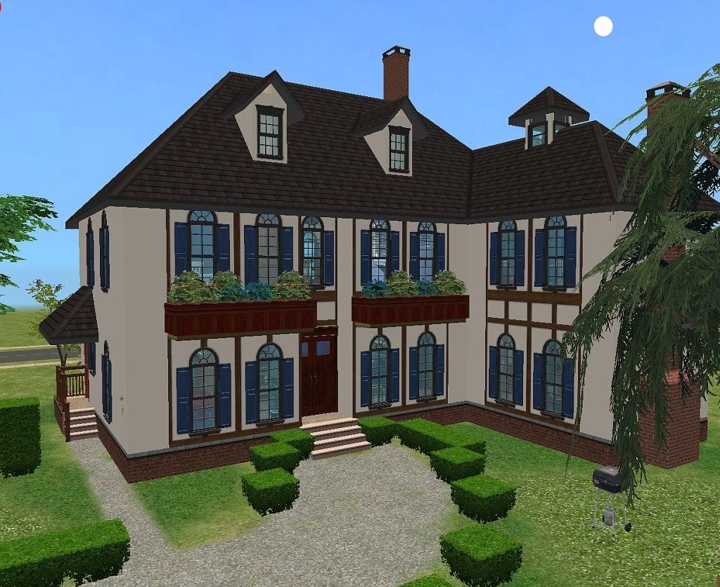 Mod the sims maison de campagne for Maison moderne de luxe sims 3
