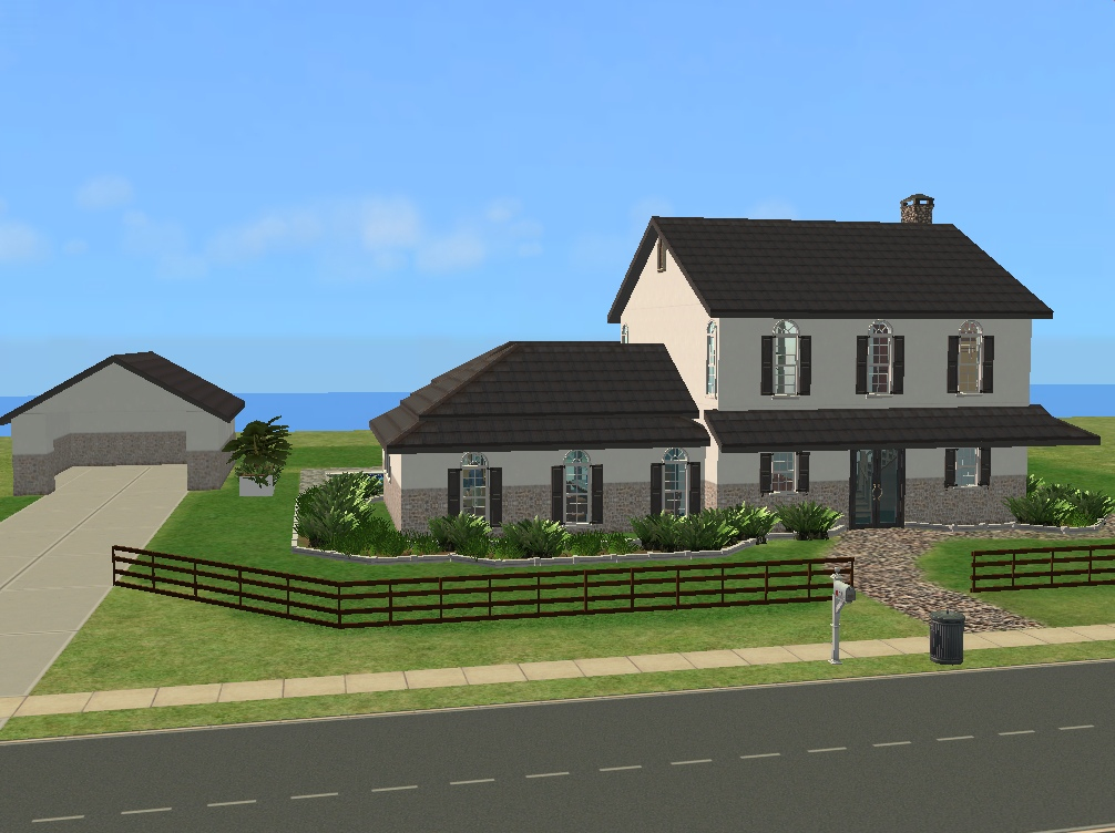 Mod the sims callaway ranch for Calloway homes