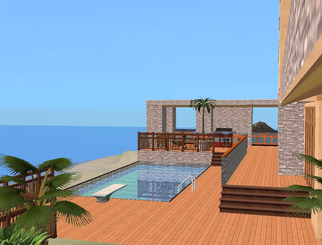 Mod the sims malibu for Pool design sims 3