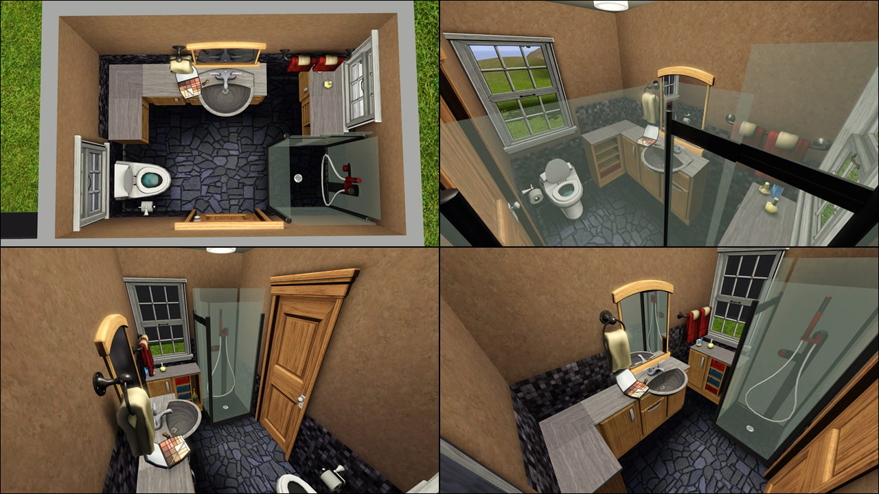 Mod The Sims Calibri Versatile Bathroom Set 1 29