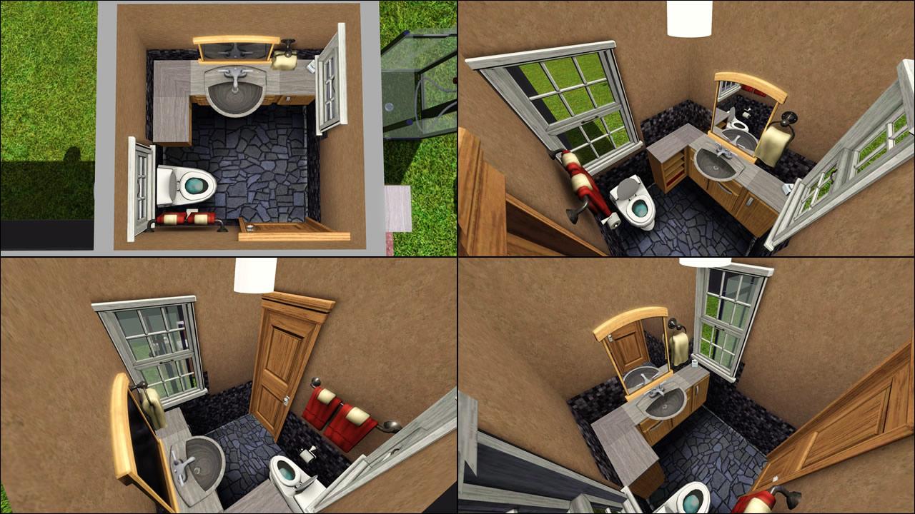 Sims 3 bathroom designs the image kid for Bathroom ideas sims 3