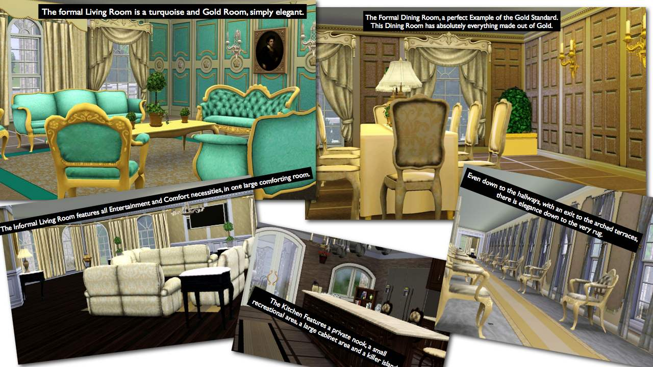 Mod The Sims The Grand Palace 12br 8bth Incredible Royal