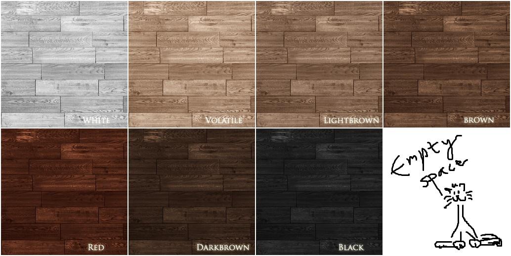 Mod The Sims - Vintervila - Wooden Floors