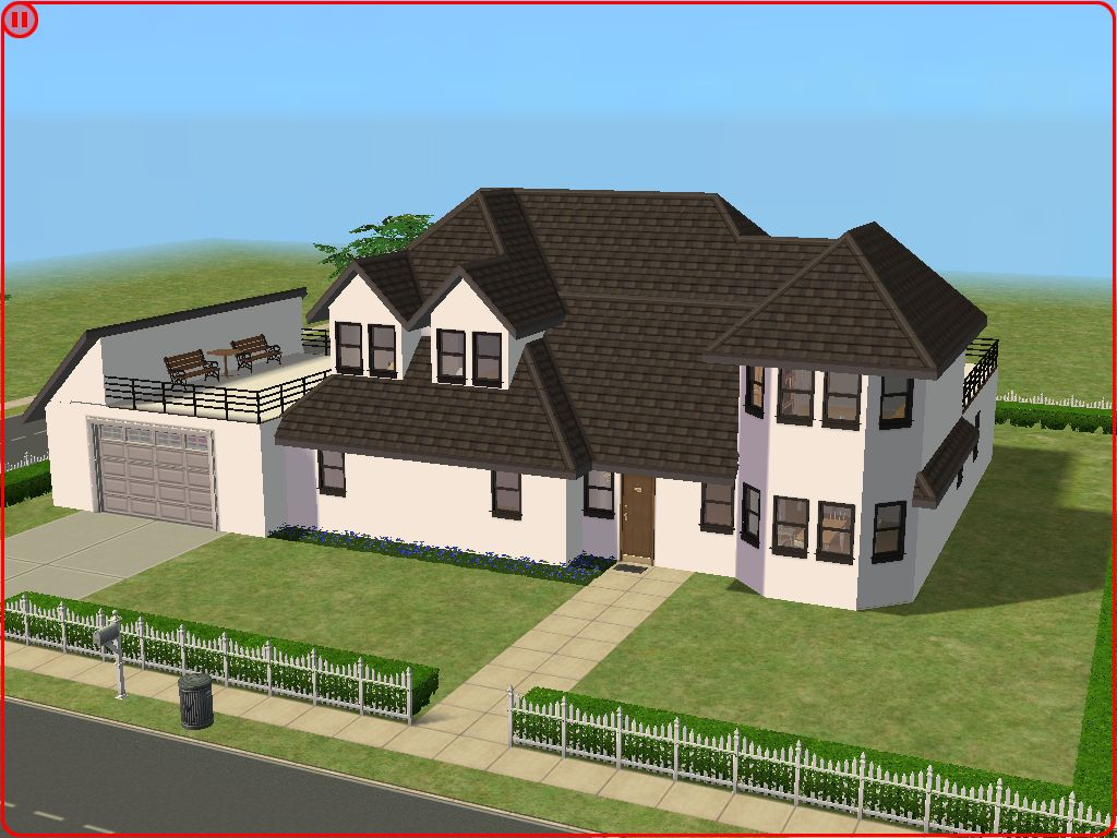 Mod the sims large suburban home for House 4