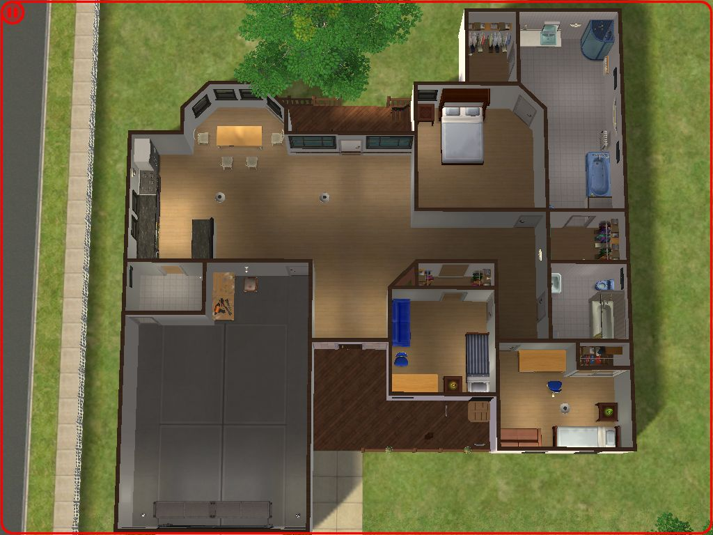 Mod The Sims Suburban Home No 2