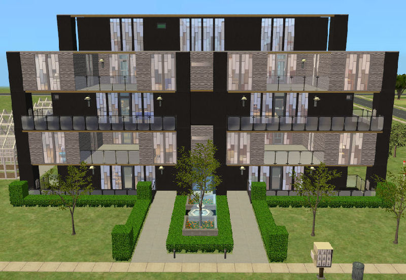 Mod The Sims - Cubic Heights Apartment Complex