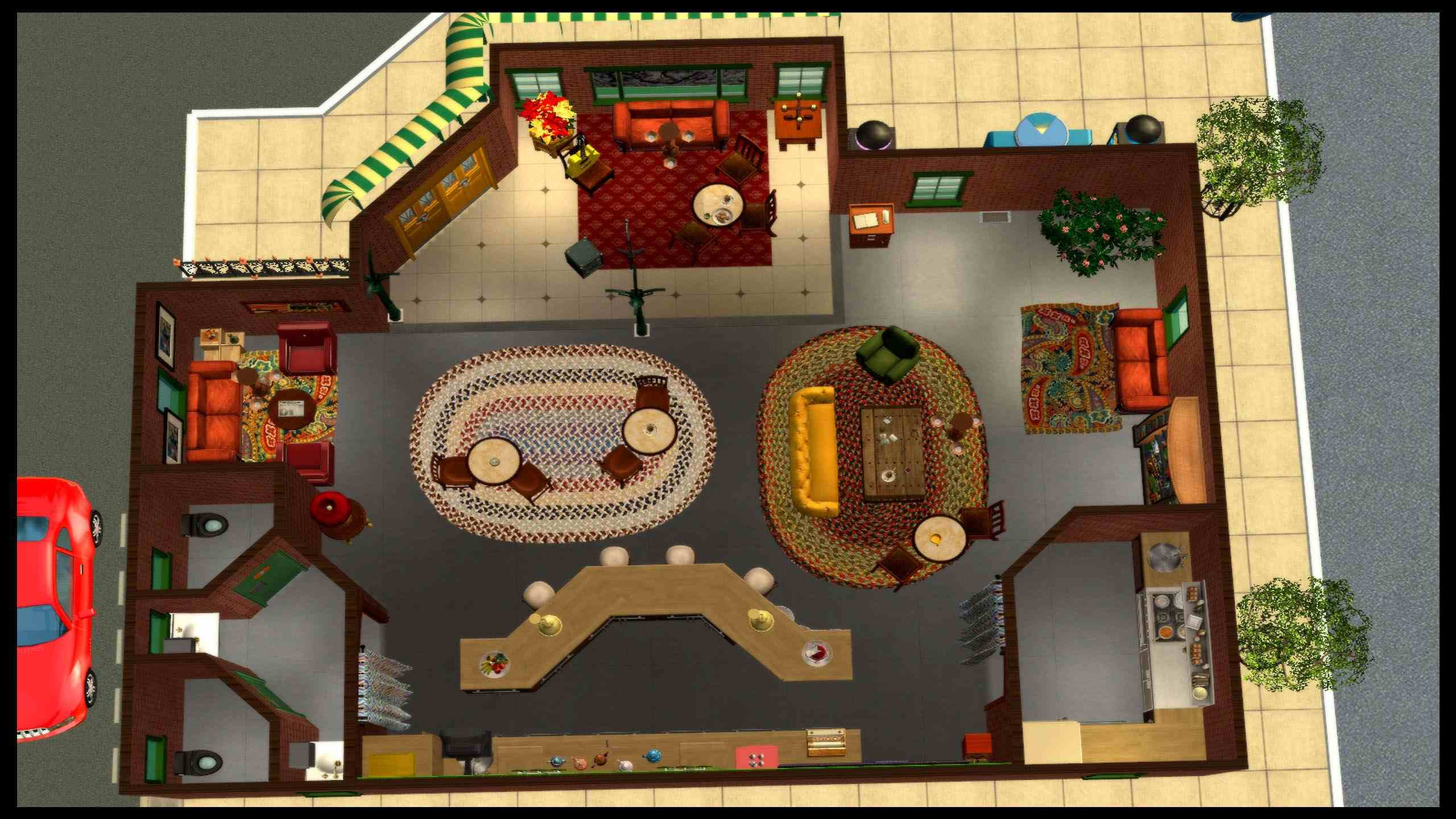 Mod The Sims Central Perk