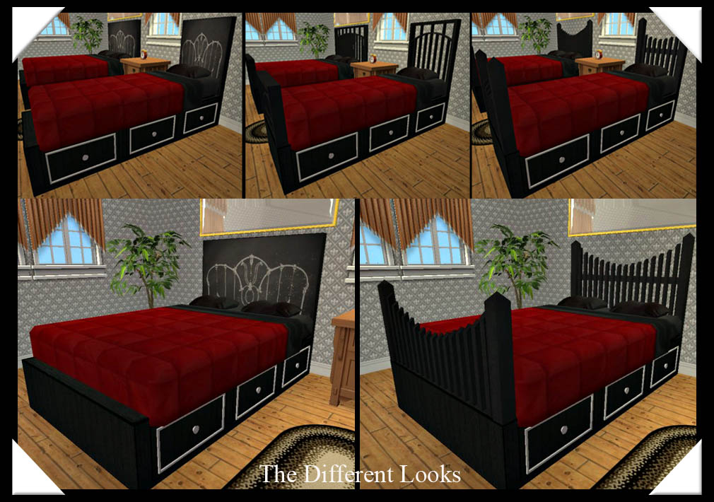 Mod The Sims Need A New Bed Build One New Meshes Double Single