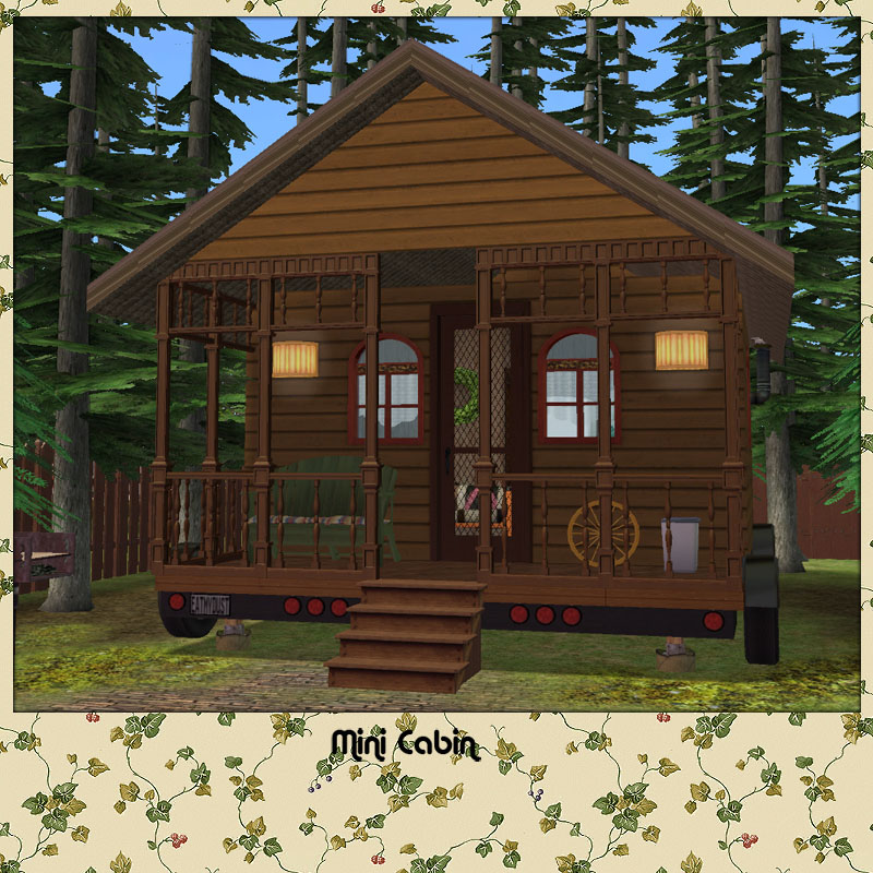 Mod the sims the mini house kit for Mini mansions houses
