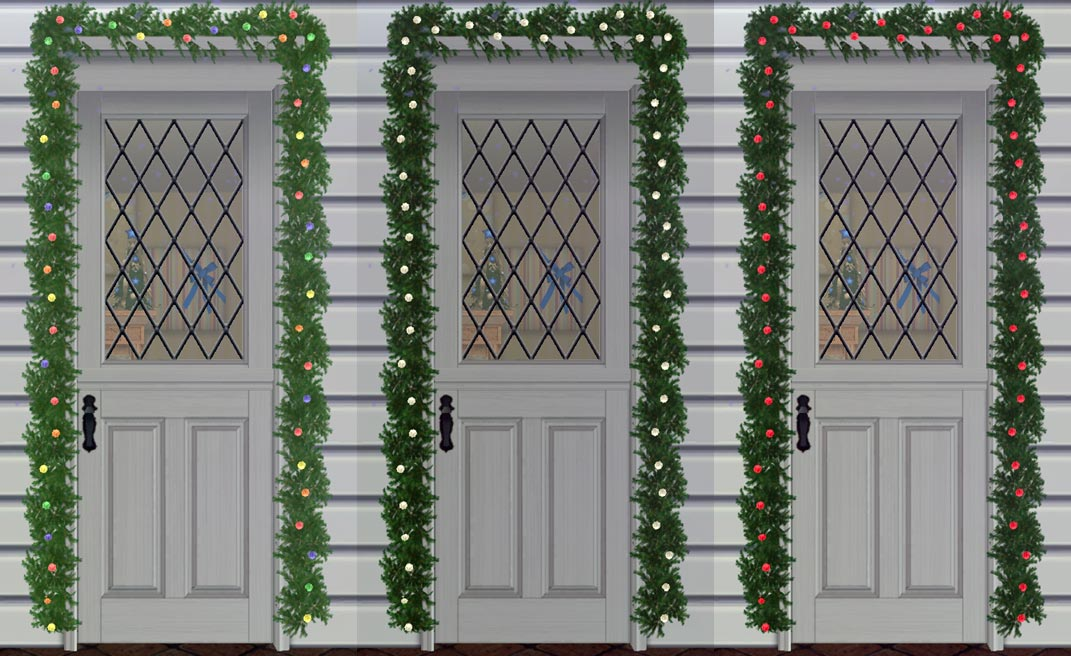 x & Mod The Sims - Light Up Your Holiday - Part 1 ~ Updated! 2 Tile ...