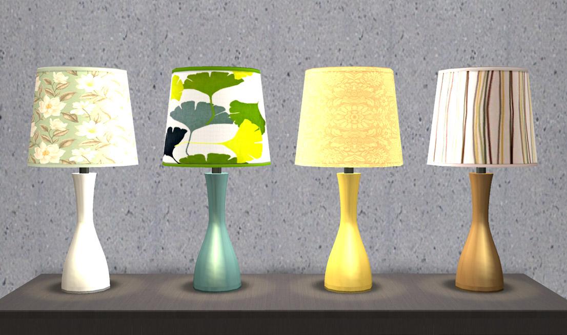 Mod The Sims Oscar Table Lamp