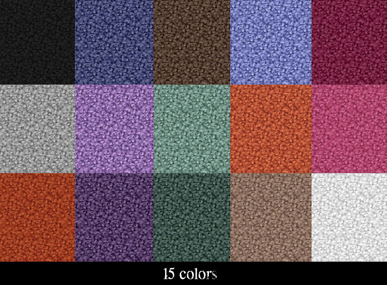 Mod The Sims Nubby Textured Carpet Set 15 Colors