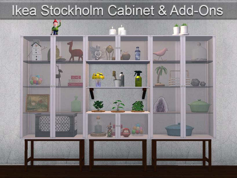 Ikea Stockholm Cabinet Set