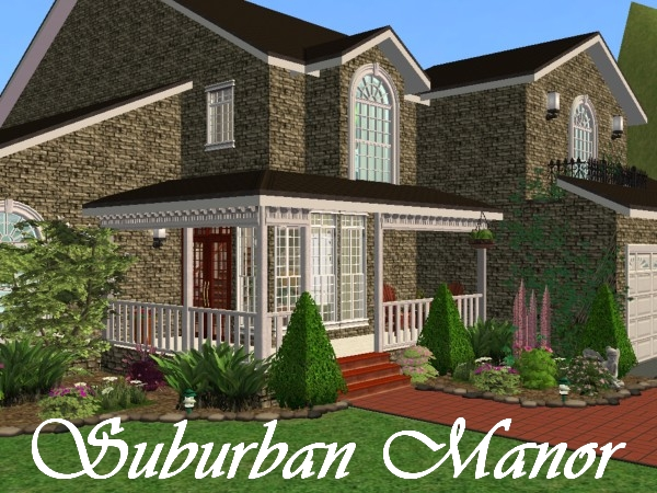 Mod The Sims Suburban Manor
