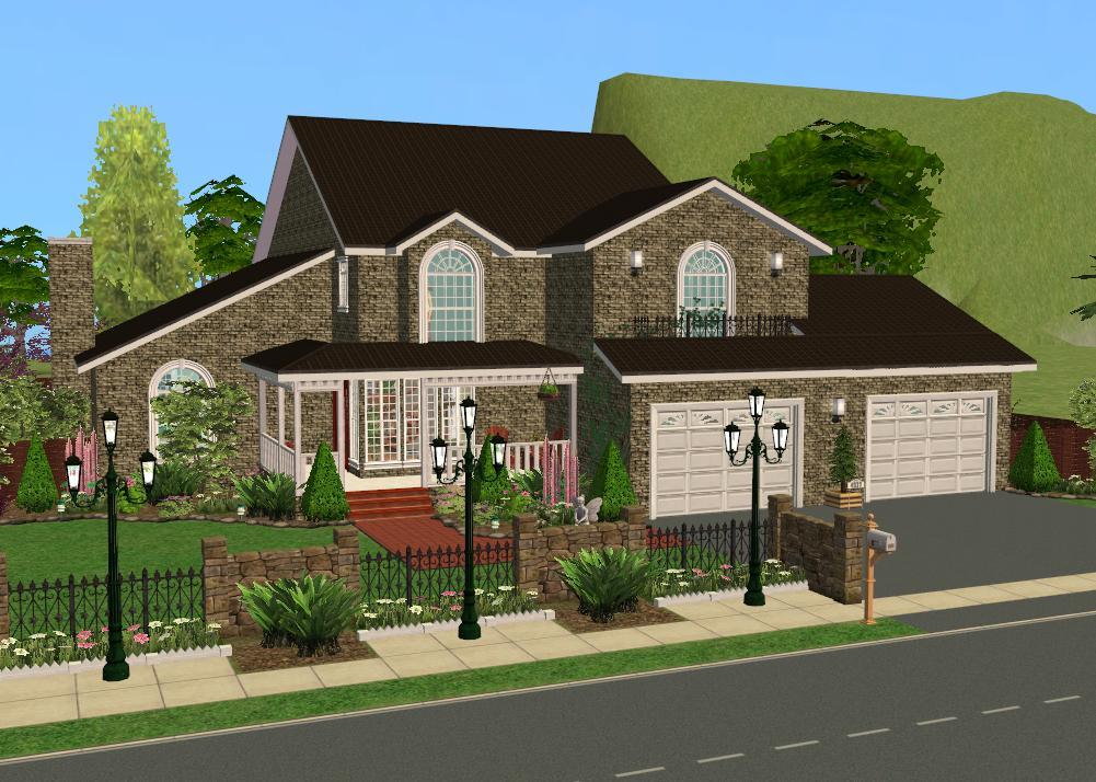 Mod The Sims Suburban Manor