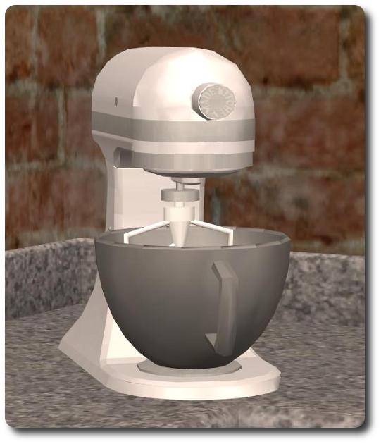 Sims Stuff 4 Kitchen: More Than A Mixer: KitchenAid Style Stand